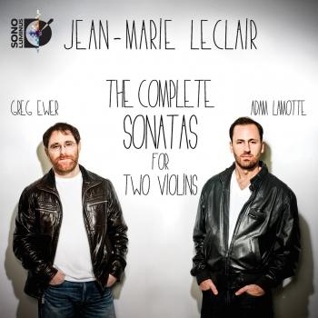 Cover Leclair: The Complete Sonatas for 2 Violins