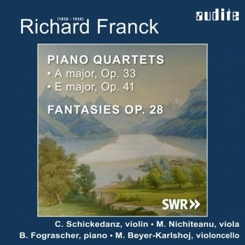 Cover Richard Franck: Piano Quartets & Fantasies