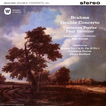 Cover Brahms: Double Concerto, Op. 102 - Beethoven: Violin Sonata, Op. 12 No. 1 (Remastered)