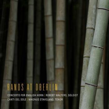 Cover Bernard Rands: English Horn Concerto & Cati del sole