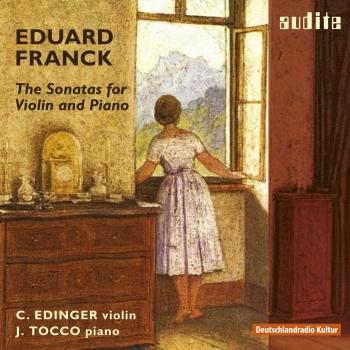 Cover Eduard Franck: Sonatas for Violin & Piano