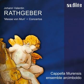 Cover Rathgeber: Messe von Muri & Concertos