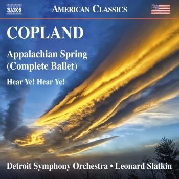 Cover Copland: Appalachian Spring & Hear Ye! Hear Ye!