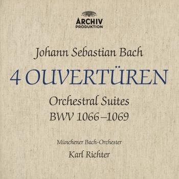 Cover Bach; J.S. Orchestral Suites; BWV 1066-1069