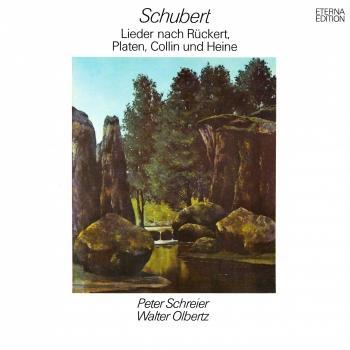 Cover Schubert: Lieder nach Rückert, Platen, Collin und Heine (Remastered)