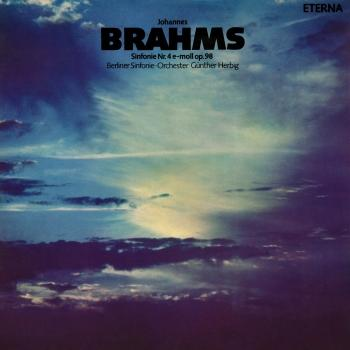Cover Brahms: Sinfonie No. 4 (Remastered)