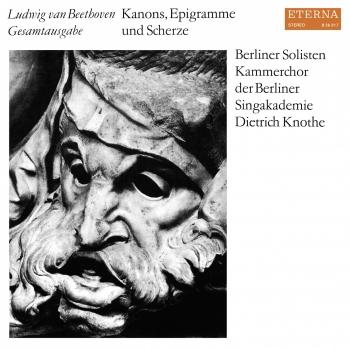 Cover Beethoven: Kanons, Epigramme und Scherze (Remastered)