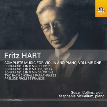 Cover Hart: Complete Music for Violin & Piano, Vol. 1