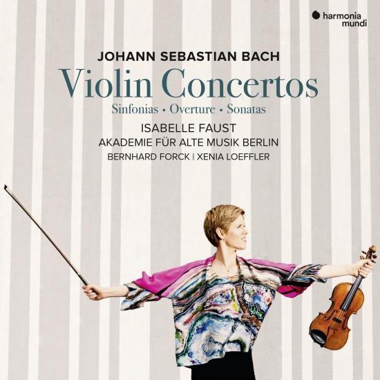 Cover J.S. Bach: Violin Concertos