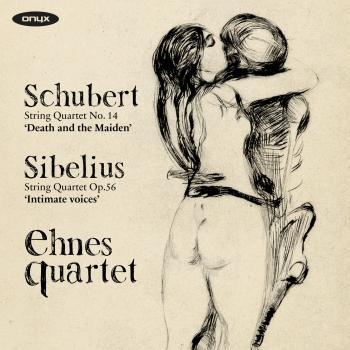 Cover Schubert: String Quartet No. 14 'Death and the Maiden' & Sibelius: String Quartet 'Intimate Voices'