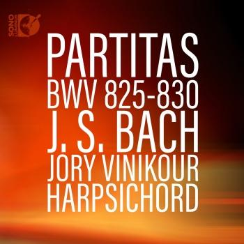 Cover Bach: Harpsichord Partitas, BWV 825-830