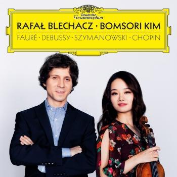 Cover Debussy, Fauré, Szymanowski, Chopin