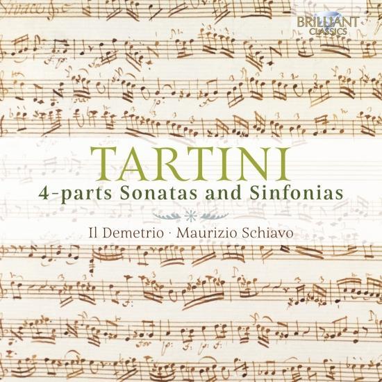 Cover Tartini: 4-parts Sonatas and Sinfonias