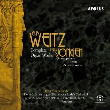 Cover Weitz: Complete Organ Works