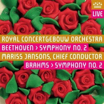 Cover Beethoven: Symphony No. 2 / Brahms: Symphony No. 2 (Live)