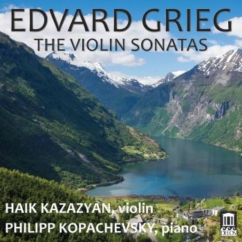 Cover Grieg: The Violin Sonatas