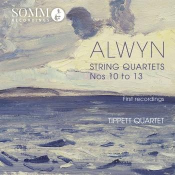 Cover Alwyn: String Quartets Nos. 10-13