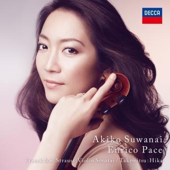 Cover Franck & R. Strauss: Violin Sonatas, Takemitsu: Hika