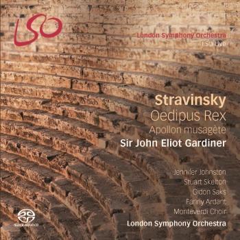 Cover Stravinsky: Oedipus Rex - Apollon musagète