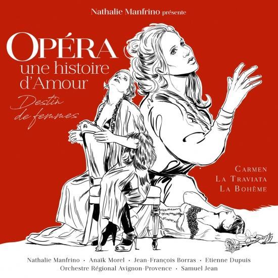 Cover Opéra: une histoire d'amour