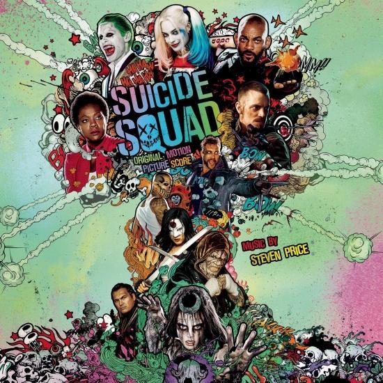 Cover Suicide Squad (Original Motion Picture Score)