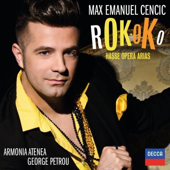Cover Rokoko - Hasse Opera Arias