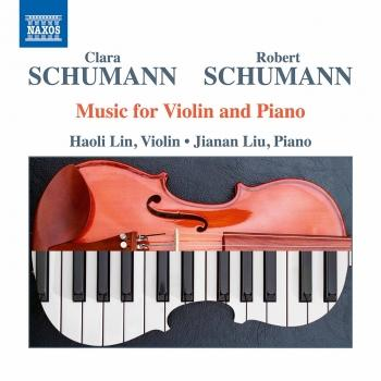 Cover C. & R. Schumann: Music for Violin & Piano