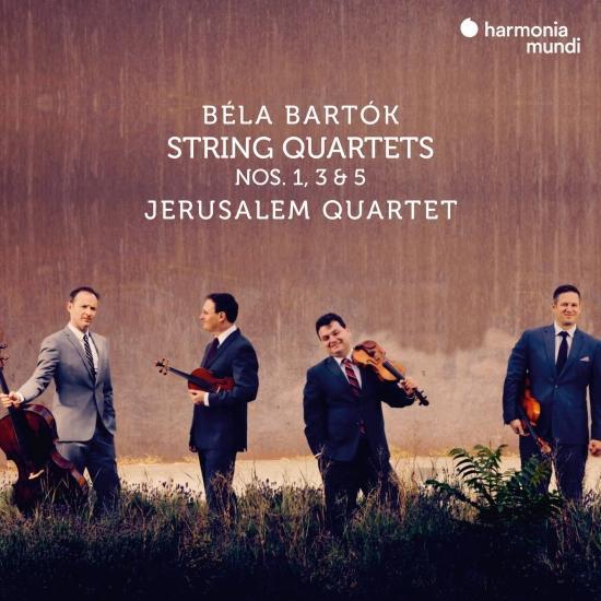 Cover Béla Bartók: String Quartets Nos. 1, 3 & 5
