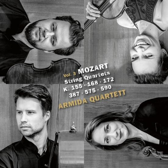 Cover Mozart: String Quartets, Vol. III