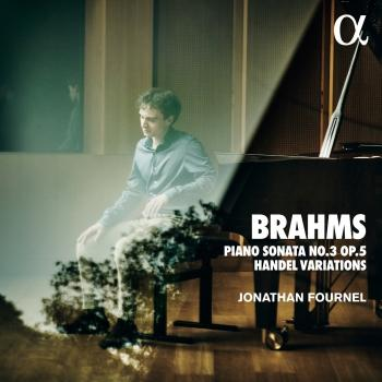 Cover Brahms: Piano Sonata No. 3 Op. 5 & Handel Variations