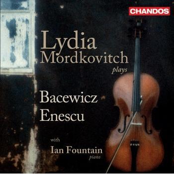 Cover George Bacewicz: Violin Sonatas Nos. 1 and 3 / Enescu, G.: Violin Sonata No. 2