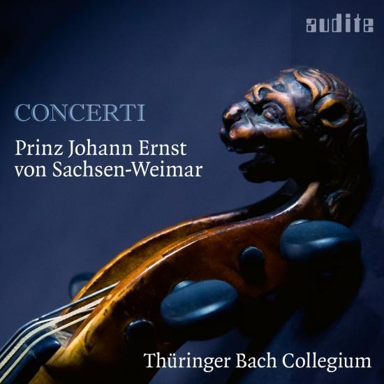 Cover Prinz Johann Ernst von Sachsen-Weimar: Concerti