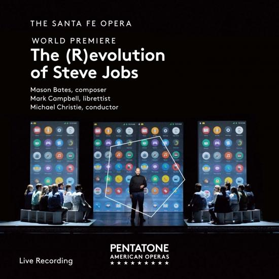 Cover Mason Bates: The (R)evolution of Steve Jobs
