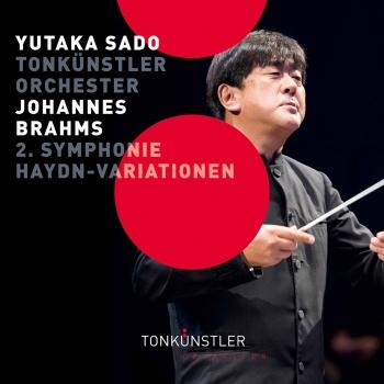 Cover Brahms: Symphony No. 2, Op. 73 & Variations on a Theme by Haydn, Op. 56a