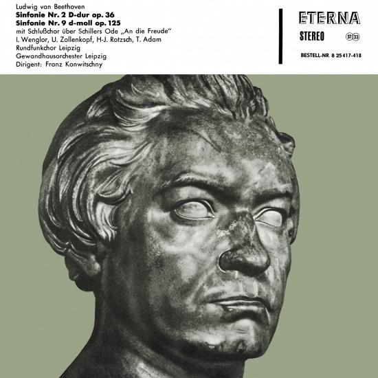 Cover Beethoven: Sinfonie No. 2 & 9 (Remastered)
