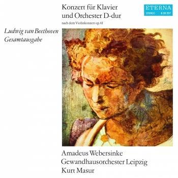 Cover Beethoven: Konzert für Klavier und Orchester D-Dur (Remastered)