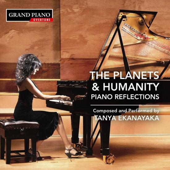 Cover Tanya Ekanayaka: The Planets & Humanity – Piano Reflections