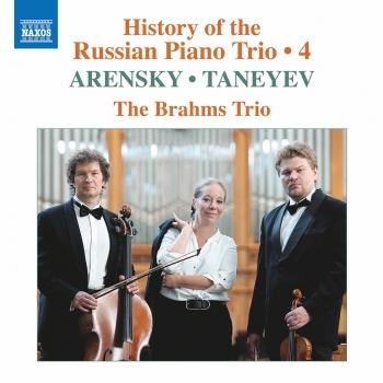 Cover History of the Russian Piano Trio, Vol. 4