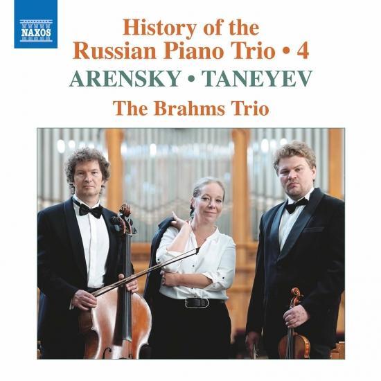 Cover History of the Russian Piano Trio, Vol. 4