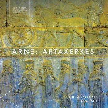 Cover Arne: Artaxerxes