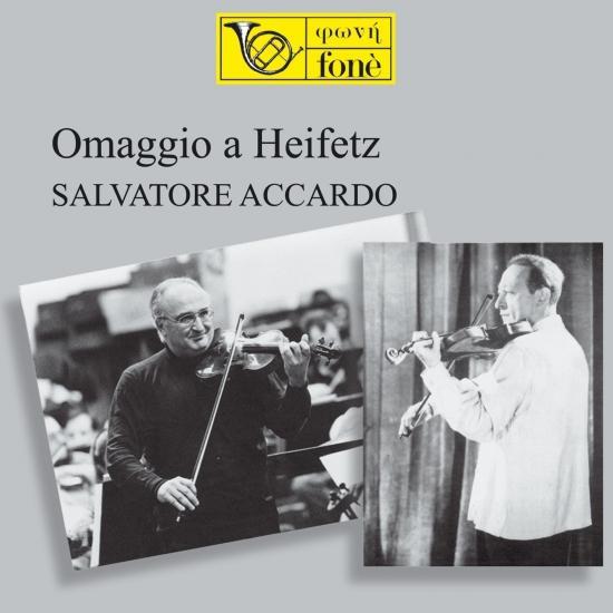Cover Omaggio a Heifetz