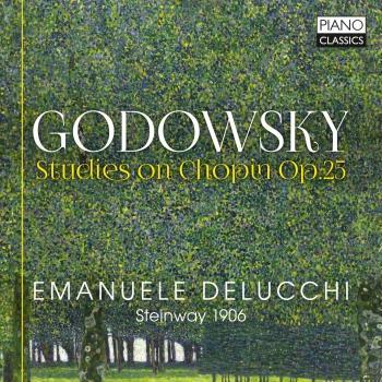 Cover Godowsky: Studies on Chopin, Op. 25