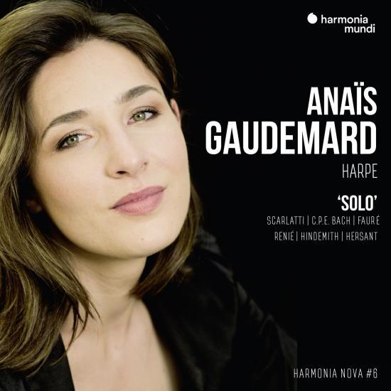 Cover Anaïs Gaudemard: Solo - harmonia nova #6