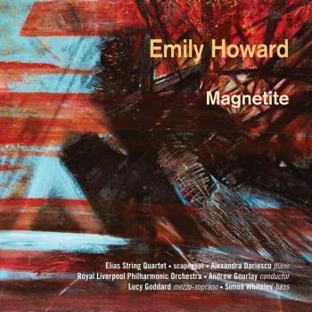 Cover Emily Howard: Magnetite