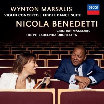 Cover Marsalis: Violin Concerto; Fiddle Dance Suite