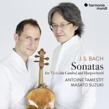 Cover J.S. Bach: 3 Sonatas for Viola da Gamba and Harpsichord, BWV 1027-1029