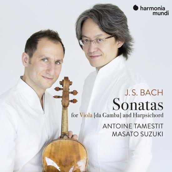 Cover J.S. Bach: 3 Sonatas for Viola da Gamba and Harpsichord, BWV 1027-1029