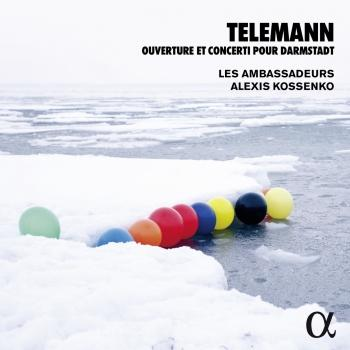 Cover Telemann: Ouverture & Concerti pour Darmstadt
