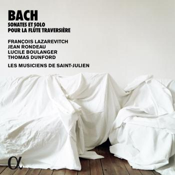 Cover Bach: Sonates & solo pour la flûte traversière