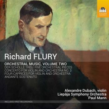 Cover Richard Flury: Orchestral Music, Vol. 2